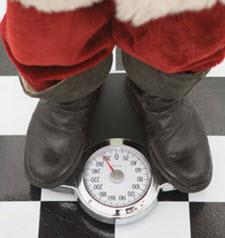 Det är lätt hänt att man går upp några kilon under julen