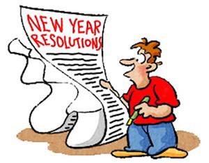 Är ditt nyårslöfte att gå ner i vikt och/eller börja träna? Du kommer förmodligen bryta det post image