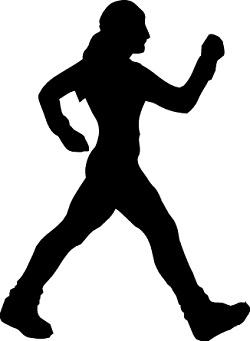 långsam promenad kalorier