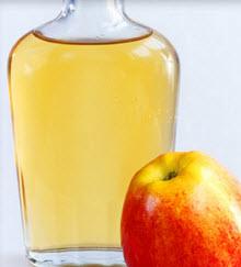 Flaska med vinäger