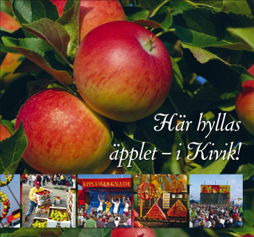 Bilder från Äppelmarknaden i Kivik