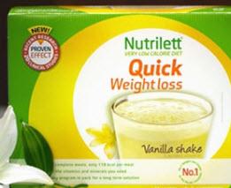 Nutrilett vanilj