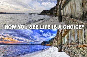 Livet är ett val