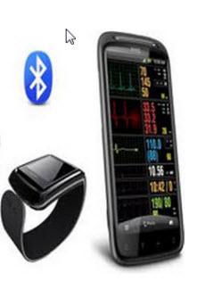 Smart mobiltelefon som håller koll på hälsan