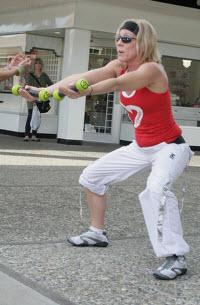 Zumba träning