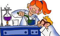 Forskare i labbet