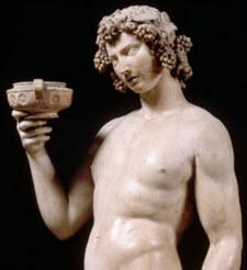 Bacchus staty