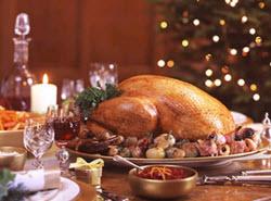 Kalkonen är populär som julmiddag i flertalet länder