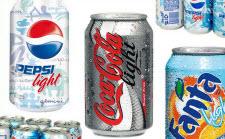 Olika sorter av light-läsk