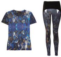 Träningskläder med mönster
