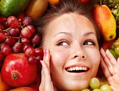 Frukt och grönt är bra för huden