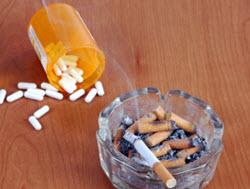 Askkopp och pillerburk