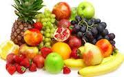 Skål med olika frukter