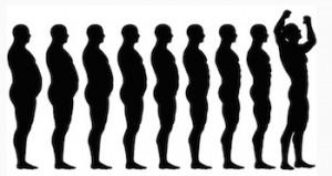 Gå ner i vikt sakta men säkert