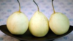 Päron mot bakfylla