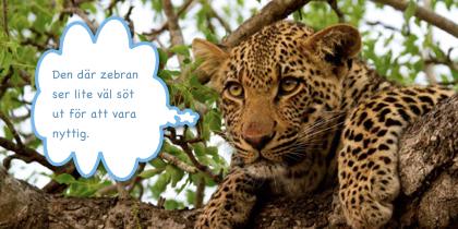 En sarkastisk leopard