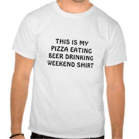 Öl- och pizza-dieten